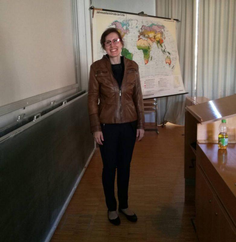 Naš predavač na gostujućem predavanju u Marburgu, Nemačka - maj 2018. godine